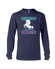 Unicorns Are Born in December Long Sleeve Tee thumbnail