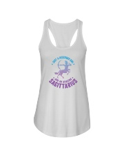 December Girl an Amazing Sagittarius Ladies Flowy Tank thumbnail