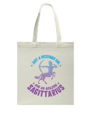 December Girl an Amazing Sagittarius Tote Bag thumbnail