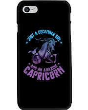 December Girl an Amazing Capricorn Phone Case thumbnail