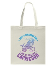 December Girl an Amazing Capricorn Tote Bag thumbnail