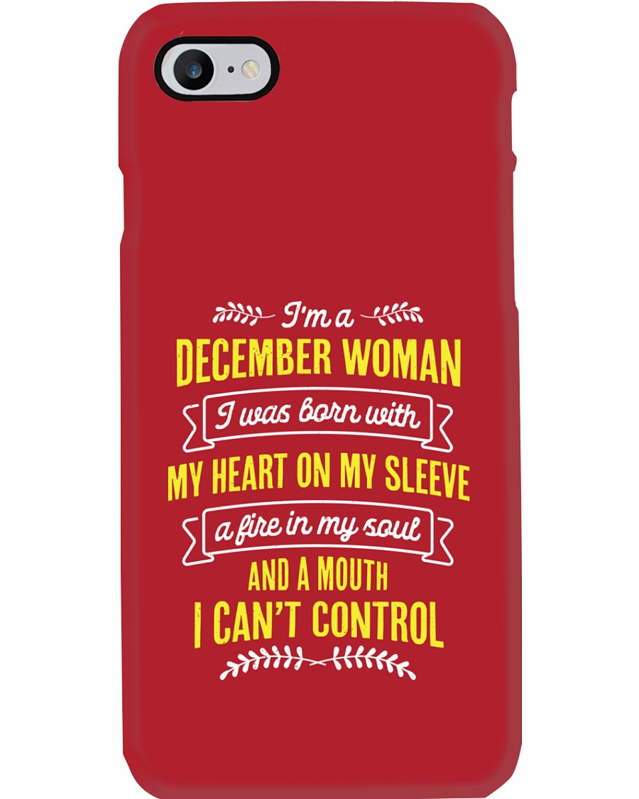 I'm a December Woman Phone Case