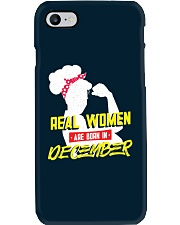 Real Women are Born in December Phone Case thumbnail