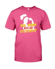 Real Women are Born in December Premium Fit Mens Tee thumbnail