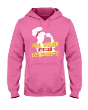 Real Women are Born in December Hooded Sweatshirt thumbnail