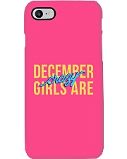 December Girls are Crazy Phone Case thumbnail