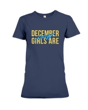 December Girls are Crazy Premium Fit Ladies Tee thumbnail