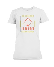 December Sagittarius Premium Fit Ladies Tee thumbnail