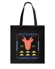 December Capricorn Tote Bag thumbnail