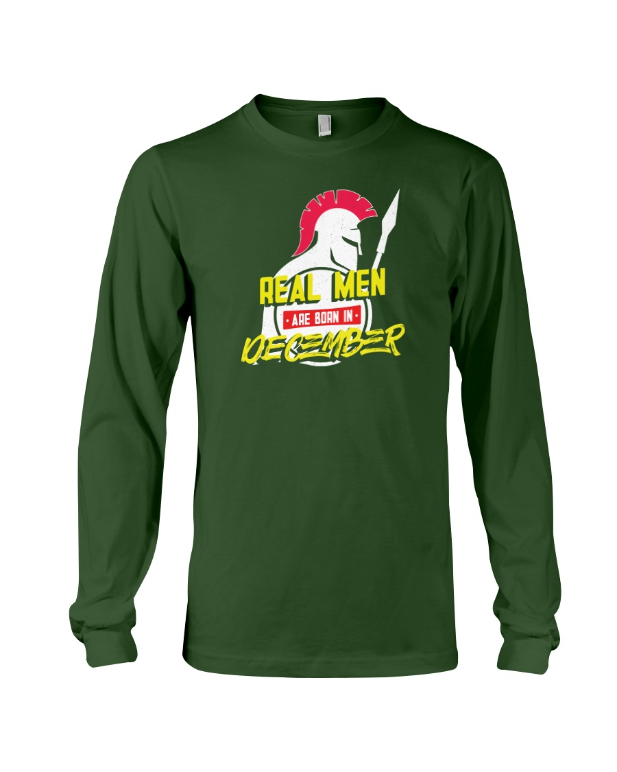 Real Men are Born in December Long Sleeve Tee