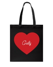 Guilty - Couple's Design Tote Bag thumbnail