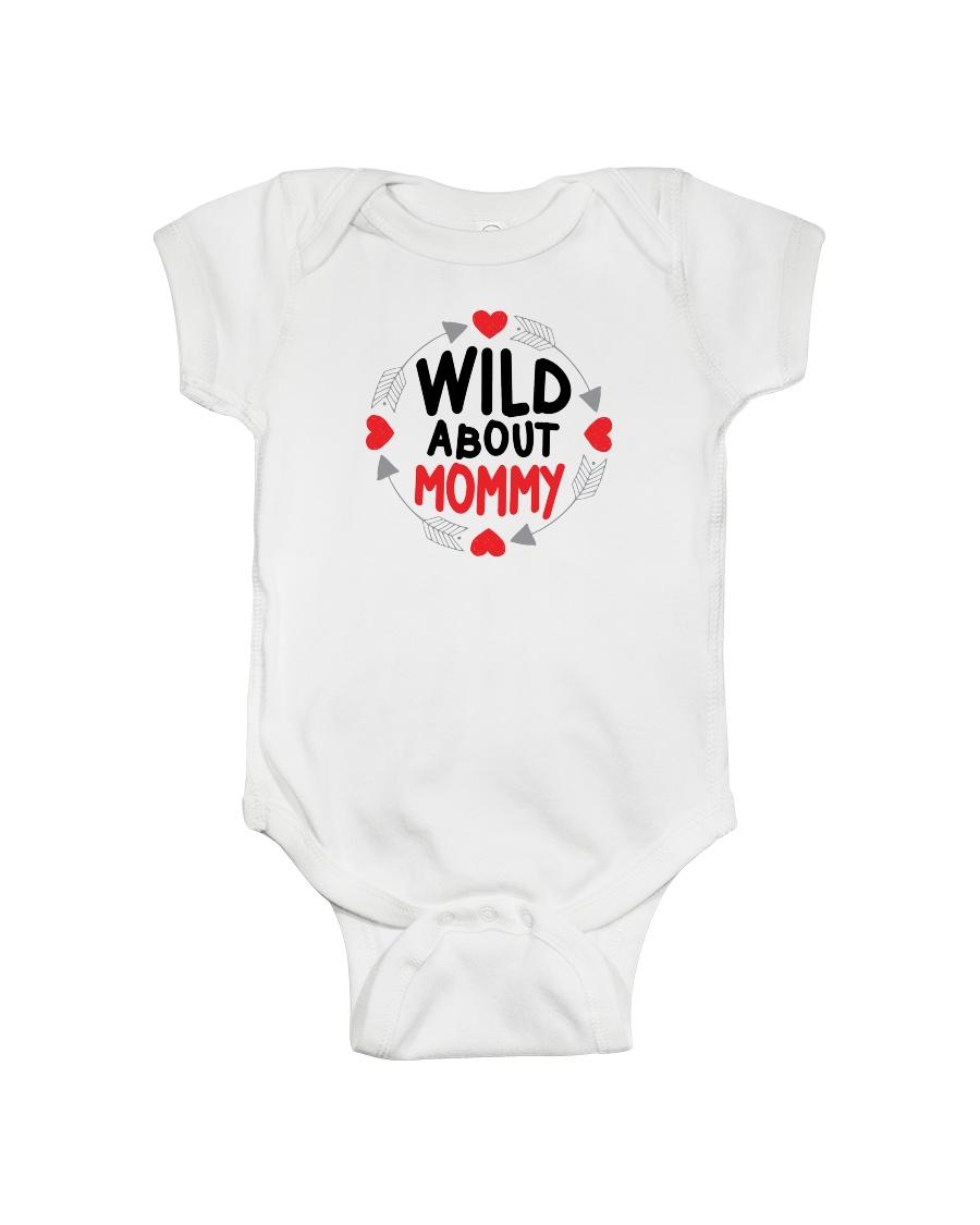 Wild About Mommy Onesie