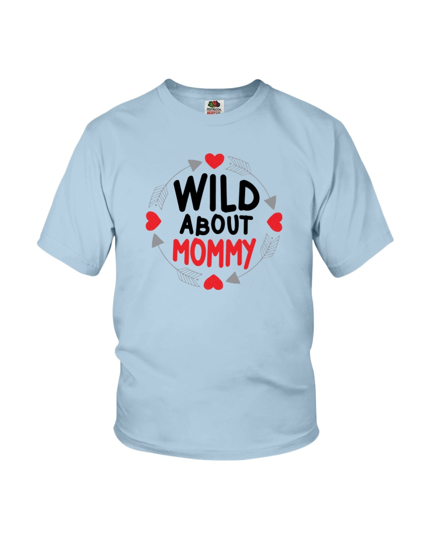 Wild About Mommy Youth T-Shirt
