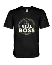 The REAL BOSS V-Neck T-Shirt thumbnail