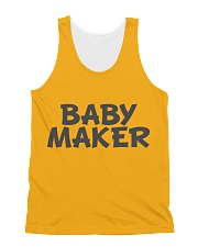 Baby Maker All-over Unisex Tank front