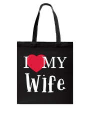 I Love My Wife Tote Bag thumbnail