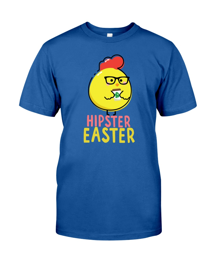 Hipster Easter Classic T-Shirt
