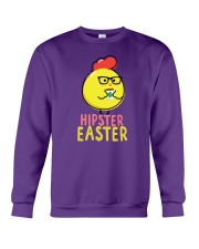 Hipster Easter Crewneck Sweatshirt thumbnail