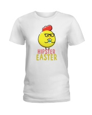 Hipster Easter Ladies T-Shirt tile