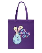 You Make Me Hoppy Tote Bag thumbnail