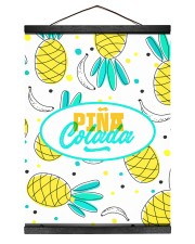 Piña Colada 12x16 Black Hanging Canvas thumbnail