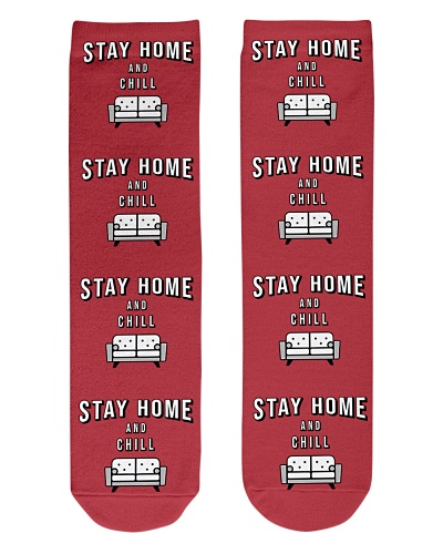 Stay Home and Chill - Red Version