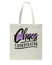 Chaos Coordinator Tote Bag thumbnail