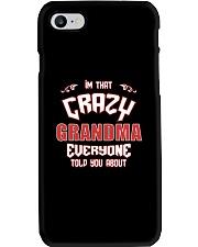 I'm That Crazy Grandma Phone Case thumbnail
