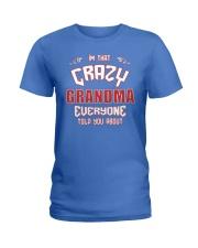I'm That Crazy Grandma Ladies T-Shirt front
