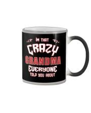I'm That Crazy Grandma Color Changing Mug thumbnail
