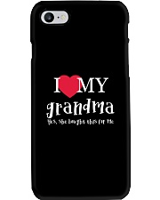 I Love My Grandma - Yes She Bought This For Me Phone Case thumbnail