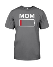 Mom Low Batery Premium Fit Mens Tee thumbnail