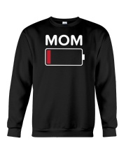 Mom Low Batery Crewneck Sweatshirt thumbnail