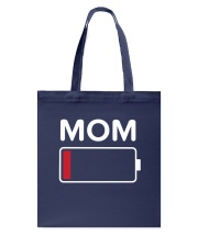 Mom Low Batery Tote Bag thumbnail