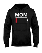 Mom Low Batery Hooded Sweatshirt thumbnail