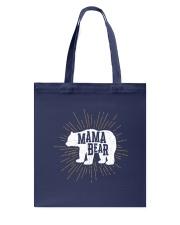 Mama Bear Tote Bag back