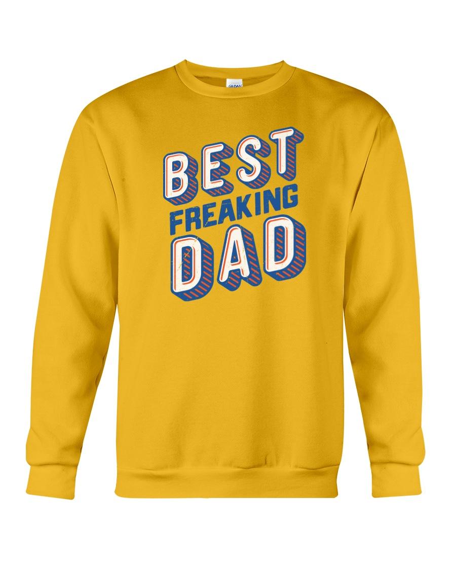 Best Freaking Dad Crewneck Sweatshirt