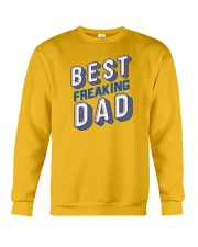 Best Freaking Dad Crewneck Sweatshirt tile