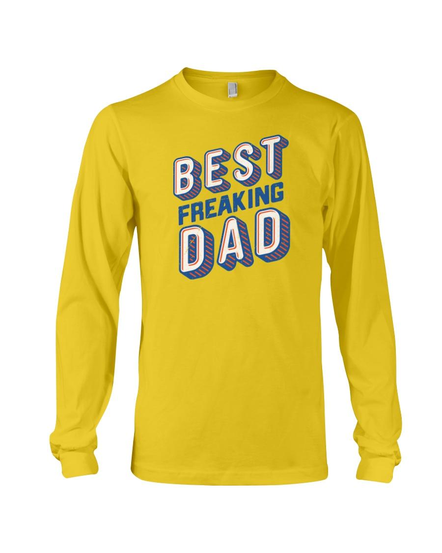 Best Freaking Dad Long Sleeve Tee