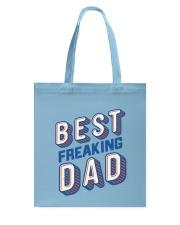 Best Freaking Dad Tote Bag back