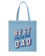 Best Freaking Dad Tote Bag tile