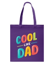 Cool Like Dad Tote Bag thumbnail