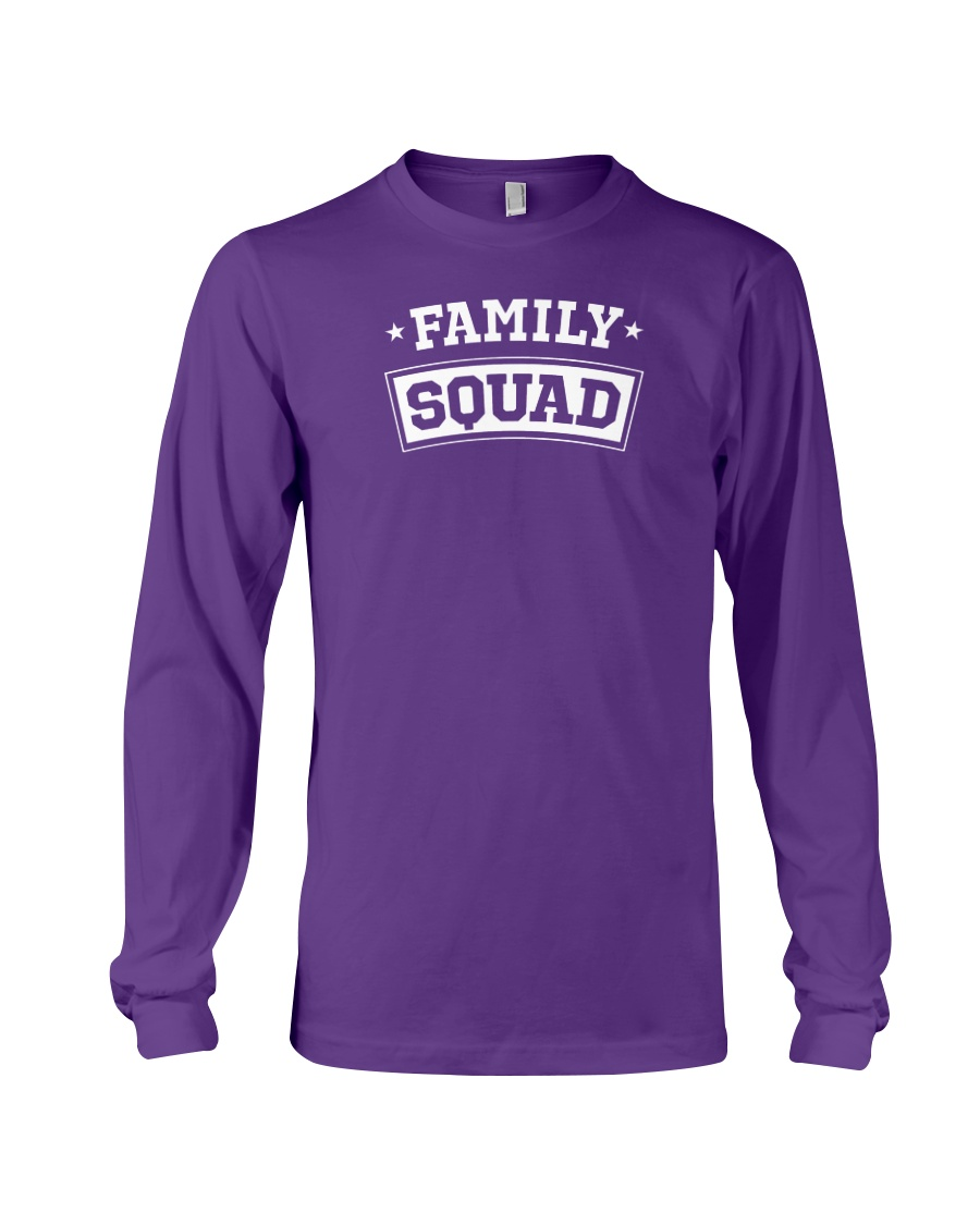 Family Squad Long Sleeve Tee