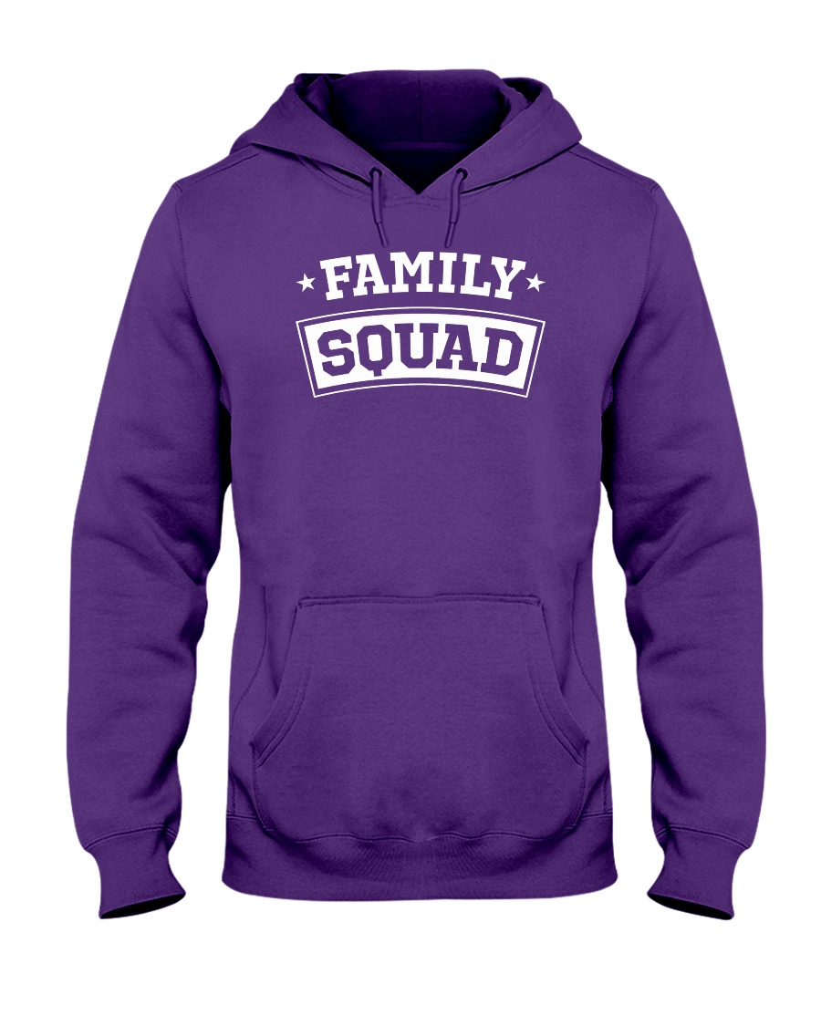 Family Squad Hooded Sweatshirt