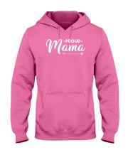 Proud Mama Hooded Sweatshirt front
