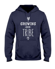 Growing our Tribe Hooded Sweatshirt front