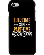 Full Time Son Part Time Rockstar  Phone Case tile