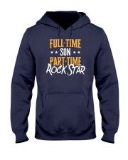 Full Time Son Part Time Rockstar  Hooded Sweatshirt thumbnail