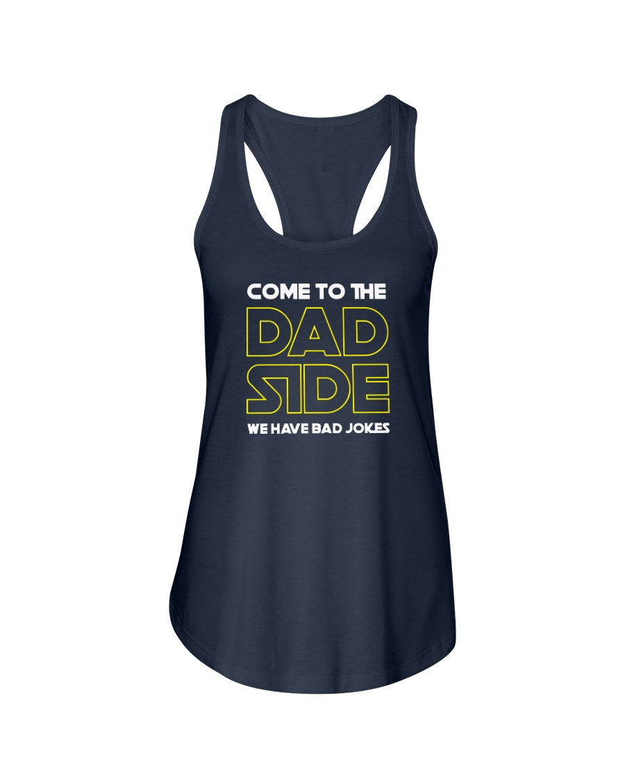 Come to the Dad Side  Ladies Flowy Tank