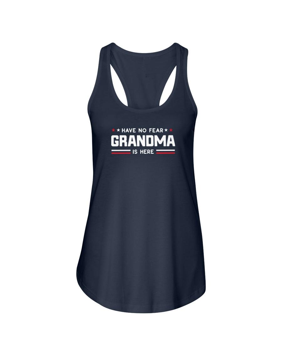 Grandma is Here Ladies Flowy Tank